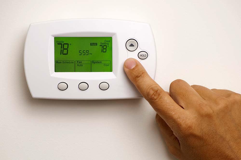 thermostat Perkins Climate Control, Inc. Leesville, LA